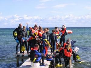 Snorkeldykkerhold Paa Tur 2007
